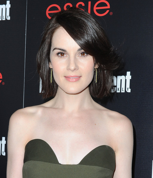 Michelle Dockery GG Ent Weekly close