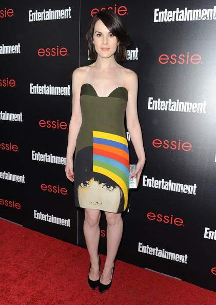Michelle Dockery GG Ent Weekly full