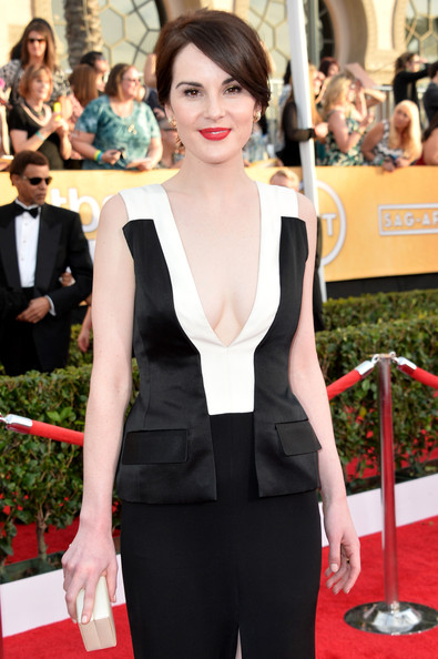 Michelle Dockery SAG Awards 3:4