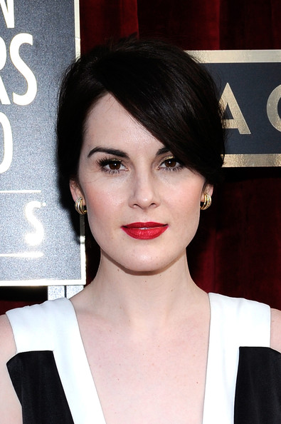 Michelle Dockery SAG Awards close