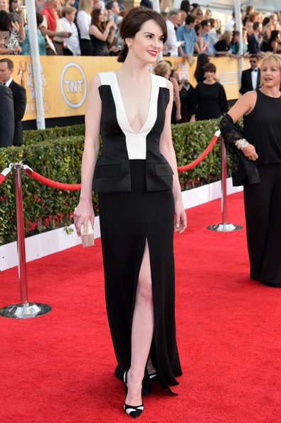 Michelle Dockery SAG Awards full