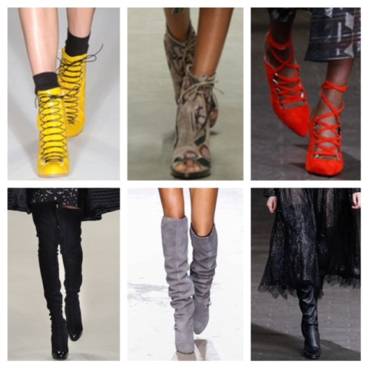LFW laceup and O boots Collage