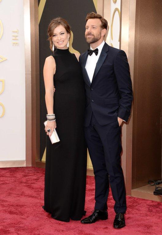 Oscars Olivia Wilde Valentino couple popsugar