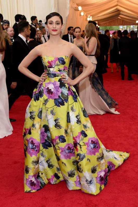 MetGala Emmy Rossum thegloss.com
